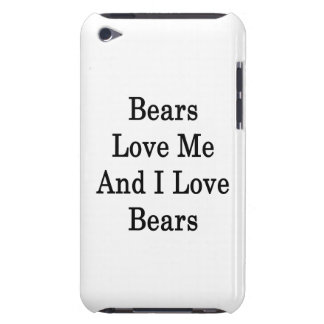 Bears Love Me And I Love Bears Barely There iPod Case