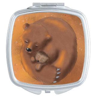Bears mirror compact mirror