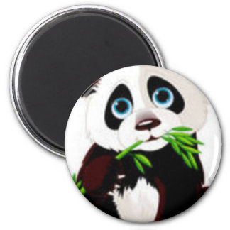 Bears, Panda, Animals, Cute 6 Cm Round Magnet