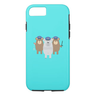 Bears Police Officer Squad Q1Q iPhone 8/7 Case
