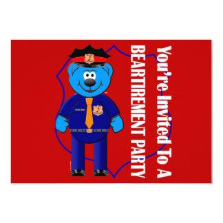 Beartirement Inivtation Card