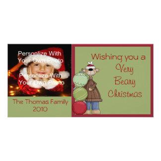 Beary Christmas Photo Card
