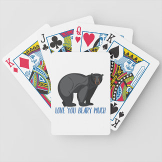 Beary Much Bicycle Playing Cards
