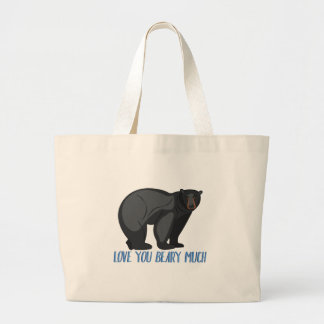 Beary Much Large Tote Bag