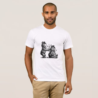 Beary Nice Hairdresser T-Shirt