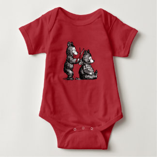 Beary Special Hairdresser Baby Bodysuit
