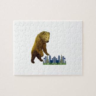 Bearzilla Jigsaw Puzzle