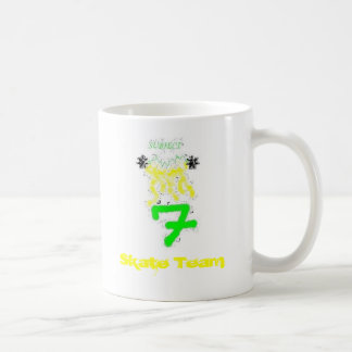 BEASR, Skate Team Classic White Coffee Mug