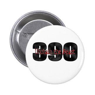 beast 390 thunderbird pinback buttons