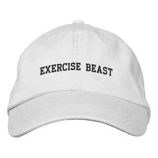 Beast apparel embroidered baseball caps