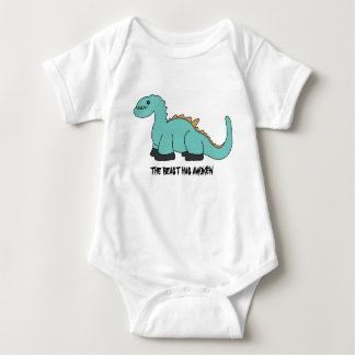 Beast baby baby bodysuit