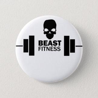 Beast Fitness 6 Cm Round Badge