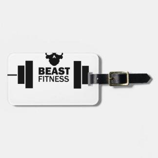 Beast Fitness Luggage Tag