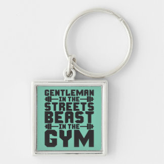 Beast In The Gym Key Chains