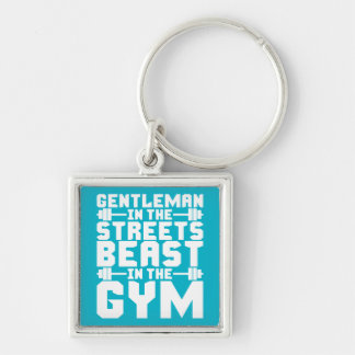 Beast In The Gym Key Chain