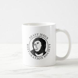 Beast Jesus Restoration Society Coffee Mug