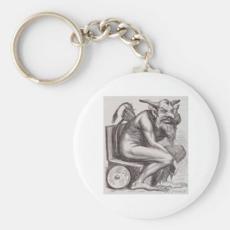 Beast of a Day Basic Round Button Key Ring