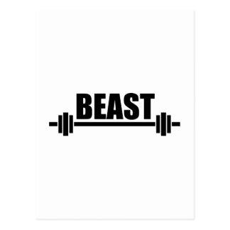 Beast Postcard