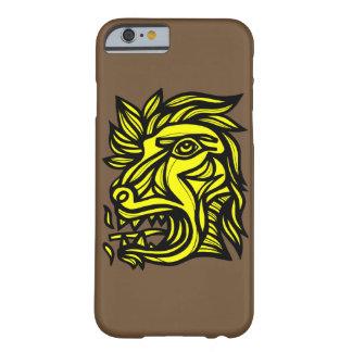 """Beast Roar Yellow Black"" Phone Case"