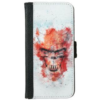 Beast Skull iPhone 6 Wallet Case