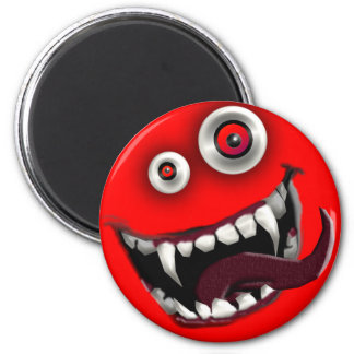 beast smiley magnet