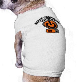 beastcondition activated sleeveless dog shirt