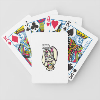 Beaster Bunny Bicycle Playing Cards