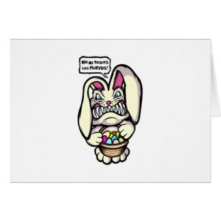 Beaster Bunny Card