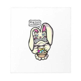 Beaster Bunny Notepad