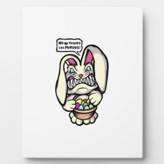 Beaster Bunny Plaque