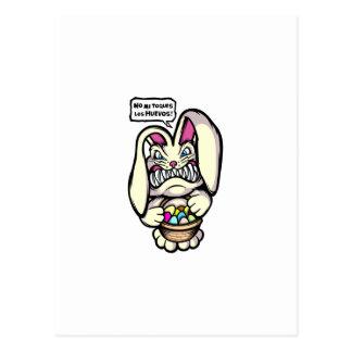 Beaster Bunny Postcard