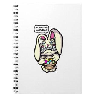 Beaster Bunny Spiral Notebook