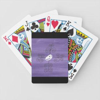 Beastie Skull Flourish Bicycle Playing Cards