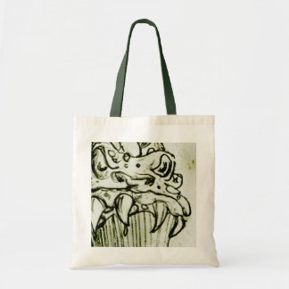 Beastly Monster Sketch Canvas Bags