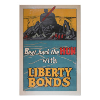 Beat Back the Hun Poster
