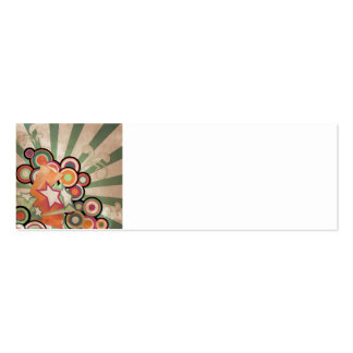 Beat Bookmark Card Double-Sided Mini Business Cards (Pack Of 20)