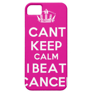 Beat Cancer iPhone 5 Cases