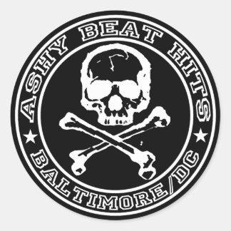 Beat Hits SKULL Sticker