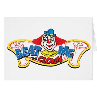 Beat Me the Clown Card
