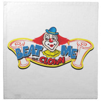 Beat Me the Clown Napkin