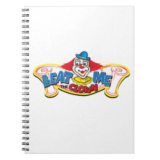 Beat Me the Clown Notebook