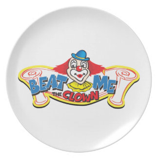 Beat Me the Clown Plate