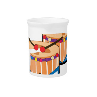 Beat The Drums Drink Pitcher