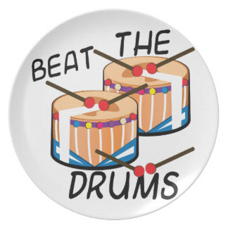 Beat The Drums Party Plates