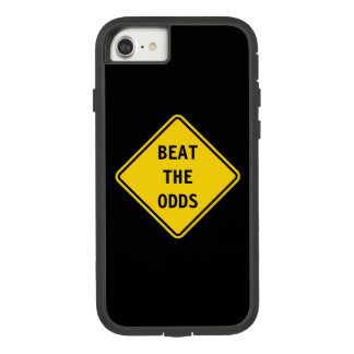 Beat The Odds - Road Sign iPhone 7 Case. Case-Mate Tough Extreme iPhone 8/7 Case