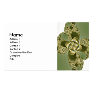 Beat This - Fractal Pack Of Standard Business Cards