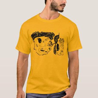 beat up graphic art T-Shirt