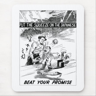 Beat Your Promise Cartoon Mouse Pad