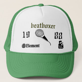 beatbox trucker hat