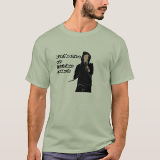 Beatboxers use invisible records. T-Shirt